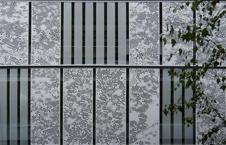 Pat O Leary Architectural Graphics Marcon Place Screen